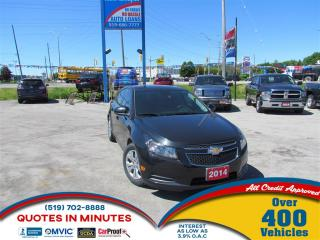 Used 2014 Chevrolet Cruze 1LT   TURBO   CLEAN   MUST SEE for sale in London, ON
