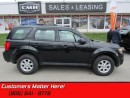 Used 2011 Mazda Tribute GX   CRUISE, KEYLESS, POWER GROUP, AUX JACK! for sale in St Catharines, ON