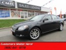 Used 2009 Chevrolet Malibu LTZ   HEATED LEATHER! MOONROOF! CLIMATE CONTROL! for sale in St Catharines, ON