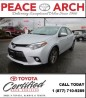 Used 2016 Toyota Corolla LE-SUNROOF/HEATSEAT/BACKUPCAM for sale in Surrey, BC
