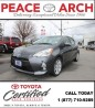 Used 2014 Toyota Prius c HATCHBACK, LEATHER/SUNROOF for sale in Surrey, BC