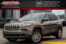 Used 2016 Jeep Cherokee Limited|4x4|SafetyTec,Luxury,TechPkgs|Nav|RearCam|AdptvCrsCtrl|18