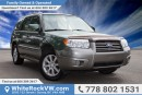 Used 2006 Subaru Forester XS LOCAL VEHICLE for sale in Surrey, BC