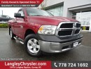 Used 2013 Dodge Ram 1500 W/ 4X4, POWER WINDOWS/LOCKS & TOW PACKAGE for sale in Surrey, BC