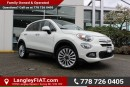 Used 2016 Fiat 500X Lounge NO ACCIDENTS, B.C OWNED for sale in Surrey, BC