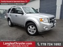 Used 2012 Ford Escape XLT W/ 4X4, POWER WINDOWS/LOCKS & BLUETOOTH for sale in Surrey, BC