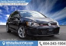 New 2017 Volkswagen Golf GTI 3-Door REAR VIEW CAMERA, BLUETOOTH, STEERING WHEEL MOUNTED AUDIO CONTROLS & SECURITY SYSTEM for sale in Surrey, BC