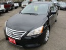 Used 2013 Nissan Sentra 'GREAT VALUE' FUEL EFFICIENT SV EDITION 5 PASSENGER 1.8L - SFI DOHC ENGINE.. KEYLESS ENTRY.. CD/AUX INPUT.. BLUETOOTH.. for sale in Bradford, ON