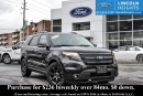 Used 2014 Ford Explorer SPORT 4WD - LEATHER - BLUETOOTH - DUAL PANEL MOONROOF - CLASS III TRAILER TOW PKG - VOICE ACTIVATED NAV - HEATED FRONT SEATS - REMOTE START for sale in Ottawa, ON