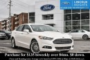 Used 2014 Ford Fusion SE AWD - LEATHER - BLUETOOTH - HEATED FRONT SEATS - MOONROOF - REVERSE SENSING SYSTEM - NAV for sale in Ottawa, ON