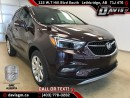 New 2017 Buick Encore Premium-Heated Leather, Start/Stop technology for sale in Lethbridge, AB