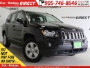 Used 2017 Jeep Compass North| LOW KM'S| ONE-PRICE INTEGRITY| for sale in Burlington, ON