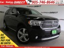 Used 2012 Dodge Durango Citadel| BLIND SPOT DETECTION| SUNROOF| DVD| AWD| for sale in Burlington, ON