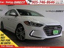 Used 2017 Hyundai Elantra LIMITED| LEATHER| SUNROOF| BACK UP CAMERA| for sale in Burlington, ON