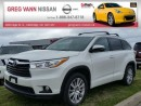 Used 2016 Toyota Highlander XLE AWD w/all leather,3rd row,NAV,climate,rear cam for sale in Cambridge, ON