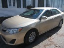 Used 2012 Toyota Camry 84K   4 cylinder  FINANCING AVAILABLE for sale in Mansfield, ON