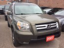 Used 2007 Honda Pilot EX-L Leather Sunroof Alloys 8 Passenger for sale in Scarborough, ON