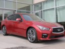 Used 2016 Infiniti Q50 SPORT/HEATED SEATS/BLIND SPOT WARNING/NAVIGATION/AROUNDVIEW MONITOR for sale in Edmonton, AB