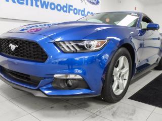 Used 2017 Ford Mustang Mustang 3.7 V6 auto with back up cam and push start/stop for sale in Edmonton, AB