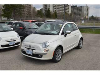 Used 2016 Fiat 500 Lounge - Leather  Sunroof  Bluetooth  Touch Screen for sale in London, ON