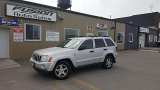 Used 2005 Jeep Grand Cherokee Laredo-4x4-LEATHER-HEATED SEATS-TOW PKG for sale in Tilbury, ON