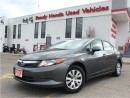 Used 2012 Honda Civic LX   Keyless   B.Tooth for sale in Mississauga, ON