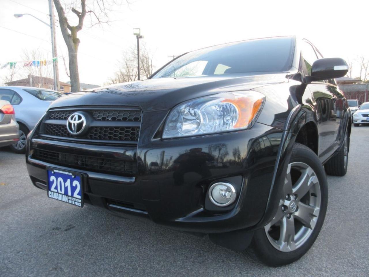 2012 Toyota RAV4 Sport-PKG-SUNROOF-ALLOYS-HEATED