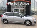 Used 2014 Subaru Impreza 2.0i AWD *BTOOTH *CRUISE/C *PWR LOCKS *PWR MIRRORS for sale in Winnipeg, MB