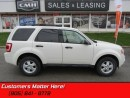Used 2012 Ford Escape XLT   BLUETOOTH, HEATED SEATS, SIRIUS! for sale in St Catharines, ON