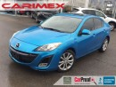 Used 2010 Mazda MAZDA3 GT | Sunroof + Leather + CERTIFIED + E-Tested for sale in Waterloo, ON
