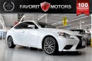 Used 2014 Lexus IS 250 AWD | LUXURY PKG | NAV | BACK-UP CAM | PARK ASSIST for sale in North York, ON
