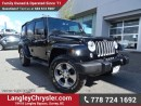 Used 2016 Jeep Wrangler Unlimited Sahara ACCIDENT FREE w/ 4X4, SOFT TOP & NAVIGATION for sale in Surrey, BC