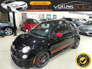 Used 2013 Fiat 500 Abarth ABARTH| PANO RF|LTHR| BEATS BY DRE|5SPD for sale in Woodbridge, ON
