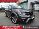 Used 2016 Dodge Journey Crossroad ACCIDENT FREE w/ AWD, LEATHER & NAVIGATION for sale in Surrey, BC