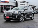 Used 2017 GMC Terrain Denali AWD - ** ONE OWNER! ** Top of the line.  Mu for sale in Virgil, ON