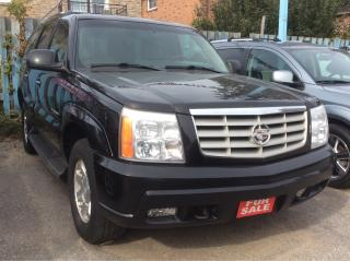 Used 2002 Cadillac Escalade for sale in Scarborough, ON