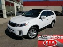 Used 2014 Kia Sorento EX AWD KIA CERTIFIED PRE OWNED for sale in Cambridge, ON