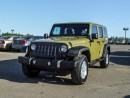 Used 2013 Jeep Wrangler Unlimited Sport 4DR 4X4 for sale in Red Deer, AB