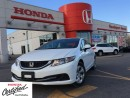 Used 2013 Honda Civic LX, SOLD for sale in Scarborough, ON
