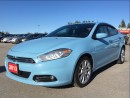 Used 2013 Dodge Dart Limited - Sunroof - Nav - Backup Cam for sale in Norwood, ON