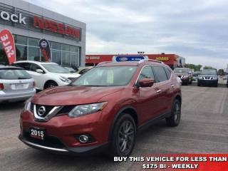 Used 2015 Nissan Rogue SV  - Bluetooth -  SiriusXM - $172.57 B/W for sale in Woodstock, ON
