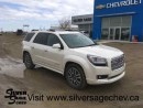 Used 2014 GMC Acadia Denali AWD for sale in Shaunavon, SK