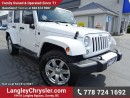 Used 2013 Jeep Wrangler Unlimited Sahara W/ 4X4, TOW PACKAGE & LEATHER for sale in Surrey, BC