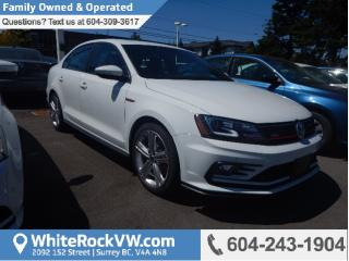 New 2017 Volkswagen Jetta GLI Autobahn AUTOBAHN, BLUETOOTH, SUNROOF & SPOILER for sale in Surrey, BC