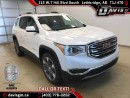 New 2017 GMC Acadia SLT-Heated Leather, 6 Passenger, Skyscape Sunroof, Navigation for sale in Lethbridge, AB
