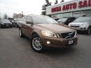 Used 2010 Volvo XC60 AWD 5dr 3.0L T6 LEATHER PANORAMIC ROOF rack SAFETY for sale in Oakville, ON