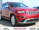Used 2014 Jeep Grand Cherokee Summit HEMI - Local One Owner Trade In | No Accidents | Navigation | Back Up Camera | Parking Sensors | Adaptive Cruise Control | Pre-Collision Warning | Power Liftgate | Panoramic Sunroof | 20 Inch Chrome Wheels | Dual Zone Climate Control with AC | Heat for sale in Edmonton, AB