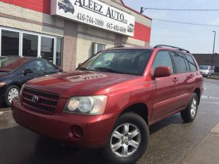 Used 2002 Toyota Highlander for sale in North York, ON