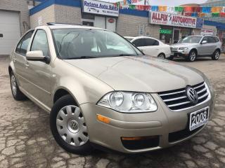 Used 2008 Volkswagen City Jetta 2.0L w/SUNROOF_LOW KMS for sale in Oakville, ON