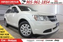Used 2015 Dodge Journey PRE-CONTRUCTION SALE| CVP| BLUETOOTH & MORE! for sale in Mississauga, ON